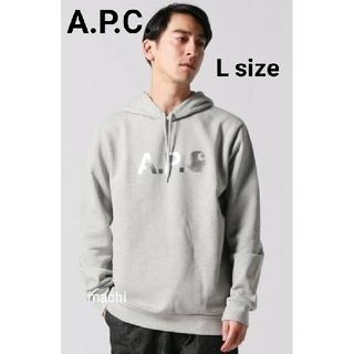 A.P.C - A.P.C. カーハート コラボ パーカー Lサイズ