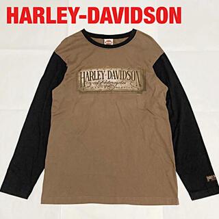 Harley Davidson - 【人気】HARLEY-DAVIDSON ハーレーダビッドソン ロンT ラグランT