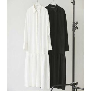 トゥデイフル(TODAYFUL)のTODAYFUL Sheerstripe Shirts Dress  21秋冬(ロングワンピース/マキシワンピース)
