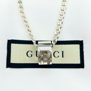 Gucci - GUCCI Gカットアウト リング ネックレス 喜平