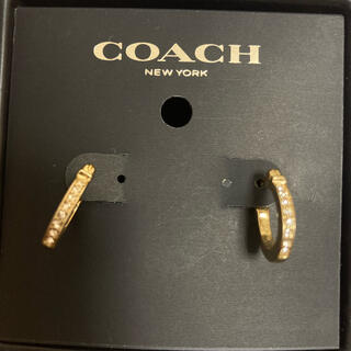 コーチ(COACH)のCOACH  コーチ ピアス ゴールド (ピアス)