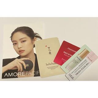 アモーレパシフィック(AMOREPACIFIC)のジェニ カード、化粧品サンプル(サンプル/トライアルキット)