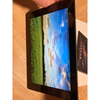 ソニー(SONY)のXperia tablet Z SGP311 JK/B (タブレット)