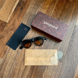 Ayame - 美品 ギュパール gp-07 サングラス 黒縁眼鏡   ヴィンテージ