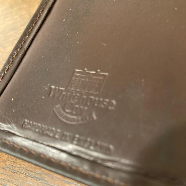 WHITEHOUSE COX(ホワイトハウスコックス)のWhitehouseCox ホワイトハウスコックス  名刺入れ カードケース メンズのファッション小物(名刺入れ/定期入れ)の商品写真