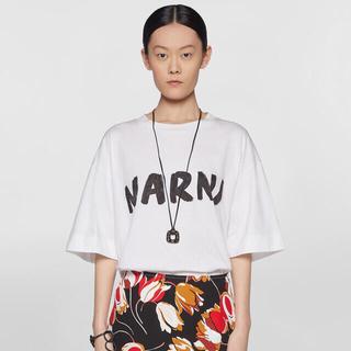 マルニ(Marni)の【公式サイト完売商品!】大人気MARNIコットンジャージー Tシャツ(Tシャツ(半袖/袖なし))