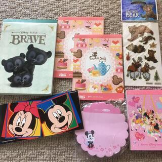 Disney - ディズニー メモ帳 ミニー ブレイブ ノベルティ