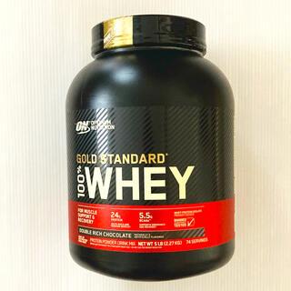 ゴールドスタンダード プロテイン 2.27kg ダブルリッチチョコレート(トレーニング用品)