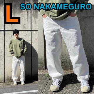 1LDK SELECT - SO NAKAMEGURO 5POCKET DENIM PANTS L 1ldk