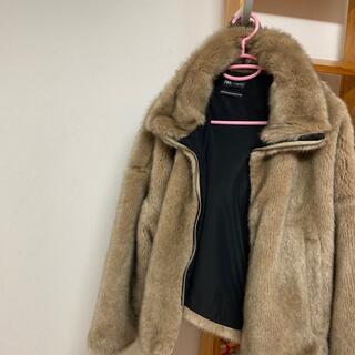ザラ(ZARA)のZARAファージャケット(毛皮/ファーコート)