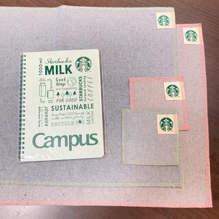 スターバックスコーヒー(Starbucks Coffee)のスターバックス 福袋 ランチョマット リングノート コースター 新品(テーブル用品)