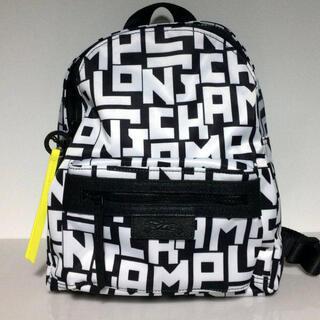 LONGCHAMP - ロンシャン LONGCHAMP ル・プリアージュ LGP バックパック 黒 白