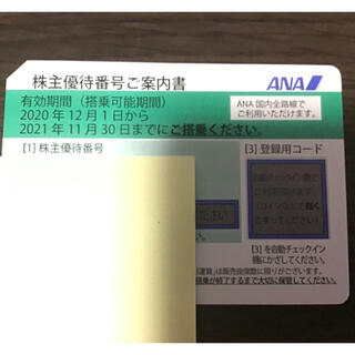 ANA(全日本空輸) - ANA 株主優待 1枚 期限5月末
