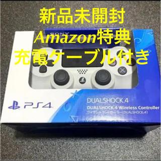 プレイステーション4(PlayStation4)のPS4 純正コントローラー DualShock4 グレイシャーホワイト 新品(その他)