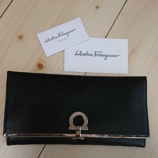 サルヴァトーレフェラガモ(Salvatore Ferragamo)のフェラガモ 財布 長財布 レディース ブラック(財布)