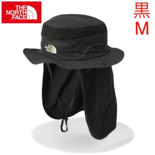 THE NORTH FACE - 新品!黒 Mサイズ THE NORTH FACE  サンシールドハット
