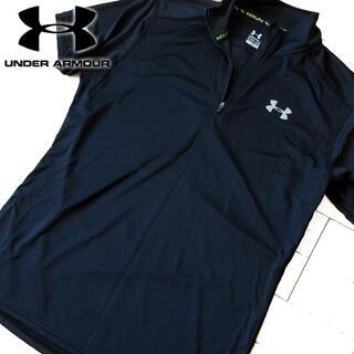 UNDER ARMOUR - 超美品 S アンダーアーマー ランニング メンズ 半袖カットソー ブラック