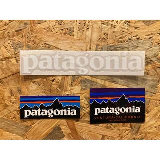 パタゴニア(patagonia)のPatagonia パタゴニア 正規品 カッティングステッカー 3枚セット(その他)