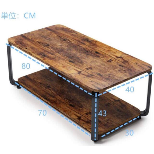 家具 机 棚 テーブル 簡単 本棚 インテリア デスク パソコン 新品 インテリア/住まい/日用品の机/テーブル(ローテーブル)の商品写真