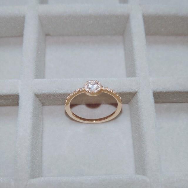 COCOSHNIK(ココシュニック)のyumiusa様専用ページ   ココシュニック K10  ダイヤモンド  リング レディースのアクセサリー(リング(指輪))の商品写真