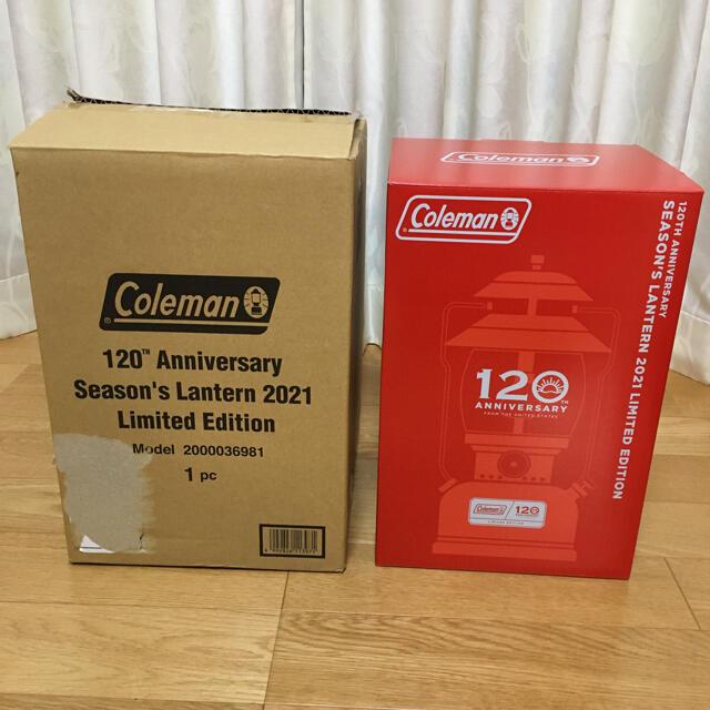 Coleman(コールマン)のコールマン 120周年 2021 シーズンズランタン Coleman 120 スポーツ/アウトドアのアウトドア(ライト/ランタン)の商品写真