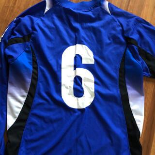 ミズノ(MIZUNO)のびわこ成蹊スポーツ大学サッカー部ユニフォーム(ウェア)