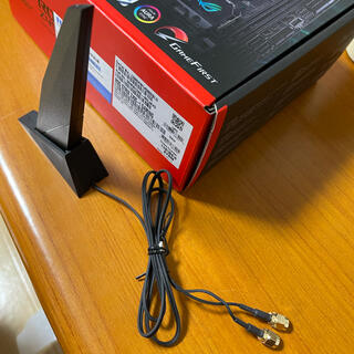 エイスース(ASUS)のASUS ROG STRIX Z490-I WIFI6 アンテナ(デスクトップ型PC)