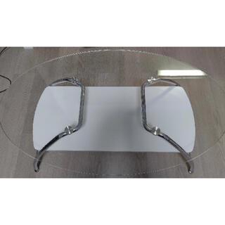 ニトリ ガラス センターテーブル ローテーブル(ローテーブル)
