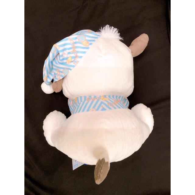 サンリオ(サンリオ)のポチャッコ すやすやBIGぬいぐるみ ブルー エンタメ/ホビーのおもちゃ/ぬいぐるみ(ぬいぐるみ)の商品写真