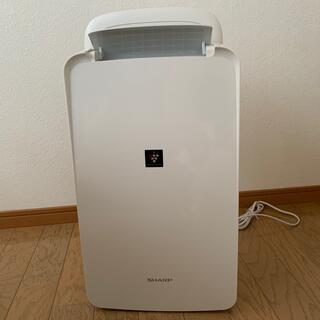 SHARP - SHARP衣類乾燥除湿機 CV-N71-W  ホワイト