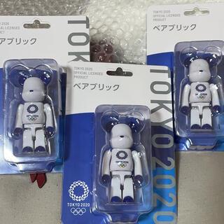 メディコムトイ(MEDICOM TOY)の新品未開封東京オリンピックベアブリックBE@RBRICK100%東京2020限定(その他)