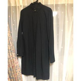 ナンバーナイン(NUMBER (N)INE)のナンバーナイン 黒ロングシャツ(シャツ)