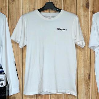 パタゴニア(patagonia)のpatagonia パタゴニア Tシャツ 白 L サイズ(Tシャツ(半袖/袖なし))