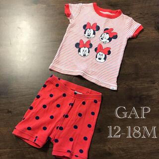 ベビーギャップ(babyGAP)の美品⭐️baby GAP 12-18M パジャマ セットアップ(パジャマ)