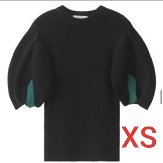 トーガ(TOGA)のTOGA H&M コラボ バルーンスリーブセーター(ニット/セーター)