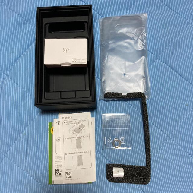 LG Electronics(エルジーエレクトロニクス)のSoftBank LG G8X ThinQ ソフトバンク SIMロック解除済 スマホ/家電/カメラのスマートフォン/携帯電話(スマートフォン本体)の商品写真