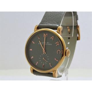 MARC JACOBS 腕時計 スモールセコンド グレー