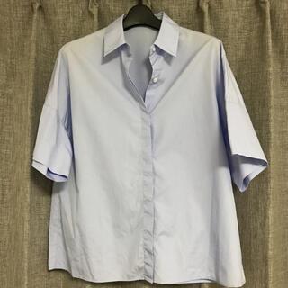 DEUXIEME CLASSE - ドゥーズィエムクラス ブルーコットンシャツ