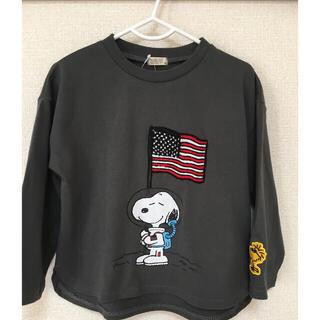 スヌーピー(SNOOPY)の完売品 レア スヌーピー ❤️  ロングTシャツ ロンT 100(Tシャツ/カットソー)