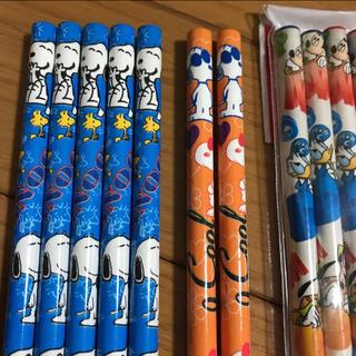 スヌーピー(SNOOPY)のSNOOPY スヌーピー 鉛筆 ミッキー パンダ 計12本(鉛筆)
