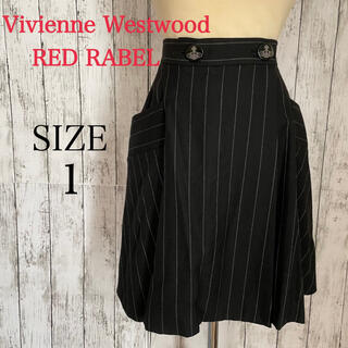 ヴィヴィアンウエストウッド(Vivienne Westwood)の美品ヴィヴィアンウエストウッドギャバストレッチフレアスカート(ミニスカート)