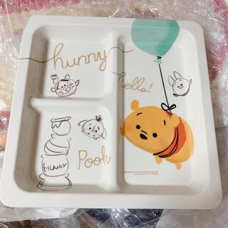ディズニー(Disney)の【新品】プーさん メラミンプレート ツムツム ディズニーストア(食器)