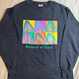 アートヴィンテージ(ART VINTAGE)の美品 90s Museum of Glass long sleeve TEE(Tシャツ/カットソー(七分/長袖))
