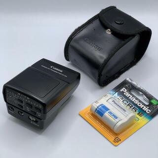 キヤノン(Canon)のCanon トランスミッターST-E2 電池付き(ストロボ/照明)
