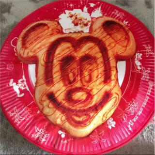 ミッキーマウス(ミッキーマウス)のミッキーワッフルクッション。(クッション)