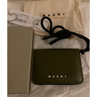 マルニ(Marni)のマルニ/MARNI 財布 カーフスキン コインケース ストラップ付き(財布)