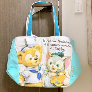 ディズニー(Disney)の【新品】販売終了 ダッフィー ジェラトーニ トートバッグ(トートバッグ)