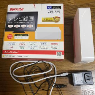 Buffalo - 外付けHDD ハードディスク 4.0TB