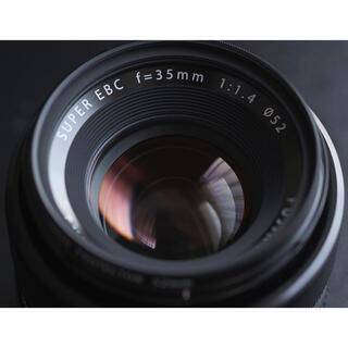 富士フイルム - 富士フイルム FUJIFILM XF35mm F1.4 R