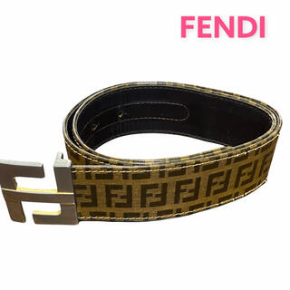 フェンディ(FENDI)の●【ヴィンテージ】FENDI フェンディ/ベルト/ズッキーノ/PVCレザー●(ベルト)
